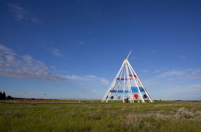 {World's Largest Teepee}